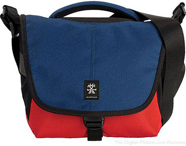 Crumpler 5 Million Dollar Home Shoulder Bag (Navy/Rust)