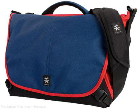 Crumpler 7 Million Dollar Home Shoulder Bag (Navy/Rust)