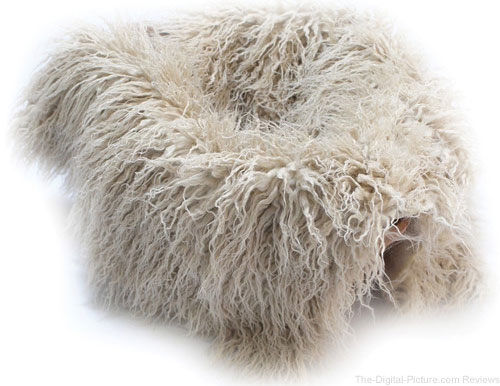 "Custom Photo Props Faux Flokati Fur Newborn Photo Prop (Blondie, 20 x 32"") - $19.95 (Reg. $27.95)"