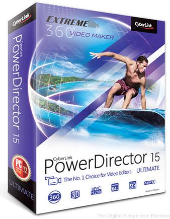CyberLink PowerDirector 15 Ultimate (DVD) - $59.99 Shipped (Reg. $99.99)