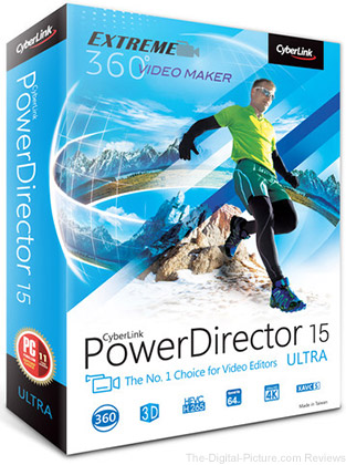 CyberLink PowerDirector 15 Ultra (DVD) - $39.99 Shipped (Reg. $99.99)