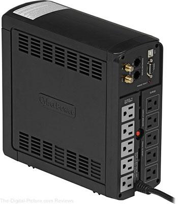 CyberPower BRG1000AVRLCD Uninterruptible Power Supply