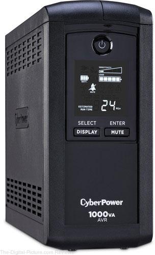 CyberPower CP1000AVRLCD Intelligent LCD UPS - $74.95 (Reg. $104.95)