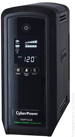 CyberPower CP1000PFCLCD PFC Sinewave UPS System and P606 Home Office Surge Protector Kit - $99.95 Shipped (Reg. $153.95)