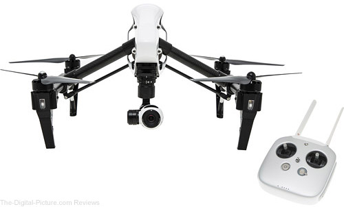 DJI Inspire 1 Quadcopter with 4K Camera - $1,549.99 Shipped (Reg. $1,999.99)
