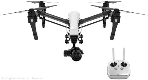 DJI Inspire 1 v2.0 PRO Quadcopter with Zenmuse X5 4K Camera and 3-Axis Gimbal - $2,699.00 Shipped (Reg. $3,399.00)