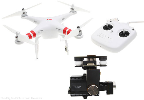 DJI Phantom 2 Quadcopter v2.0 with Zenmuse H4-3D Gimbal Kit - $399.00 Shipped (Reg. $699.00)