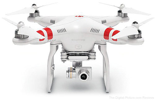 DJI Phantom 2 Vision+ v2.0 Quadcopter with Stabilized 1080p Camera