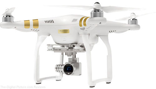 DJI Phantom 3 4K Quadcopter- $598.00 (Reg. $798.00)