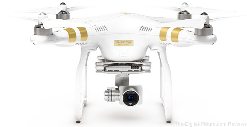 DJI Phantom 3 Professional Quadcopter with Extra Battery - $898.99 Shipped