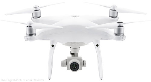 DJI Introduces Phantom 4 Advanced and Advanced+ Models