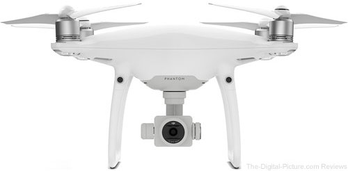 DJI Phantom 4 Pro Quadcopter In Stock at B&H