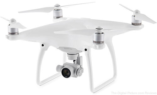 DJI Phantom 4 Quadcopter - $929.95 Shipped (Compare at $1,061.00)