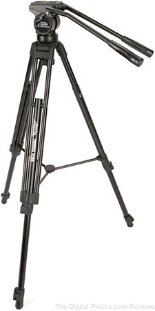 Davis & Sanford Provista 7518B Tripod with V18 Fluid Head - $99.95 Shipped (Reg. $199.95)
