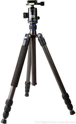 Davis & Sanford TR654C-36 Traverse Carbon Fiber Grounder Tripod With Ball Head - $99.99 Shipped (Reg. $169.99)