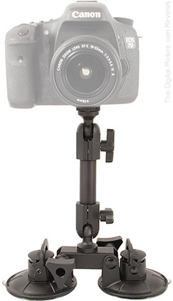 Delkin Devices Fat Gecko Dual-Suction Camera Mount - $39.95 Shipped (Reg. $69.95)