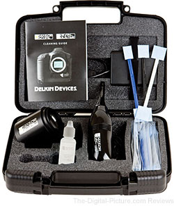 Delkin Devices SensorScope 3 Cleaning Kit