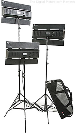 Digital Juice Aura Three-Point Lighting Kit - $349.00 Shipped (Reg. $649.00)