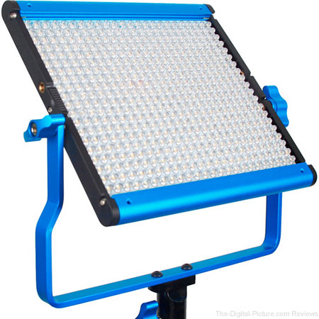 Dracast LED500 Silver Series Bi-Color LED Light with Dual NP-F Battery Plate - $199.95 Shipped (Reg. $499.95)