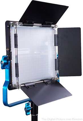 Dracast LED500 Silver Series Daylight LED Light with 2x L-Series Battery Plates - $199.00 Shipped (Reg. $399.00)