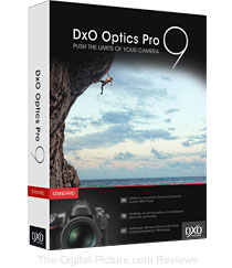 DxO Optics Pro 9 Software