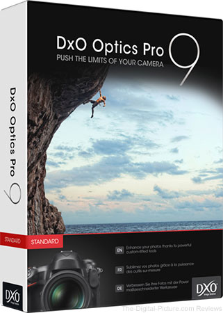 Live Again: Get Your Copy of DxO OpticsPro 9 Absolutely Free