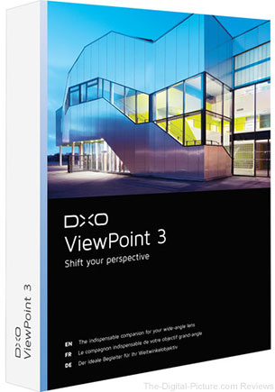 DxO Announces ViewPoint 3