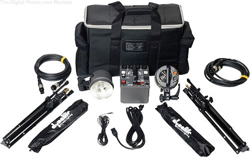 Dynalite MK8-1222V RoadMax 800W/s 2 Head Kit (120V) - $1,799.00 Shipped (Reg. $2,048.00)