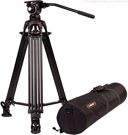 E-Image 2-Stage Aluminum Tripod with GH03 Head - $169.00 Shipped (Reg. $249.00)