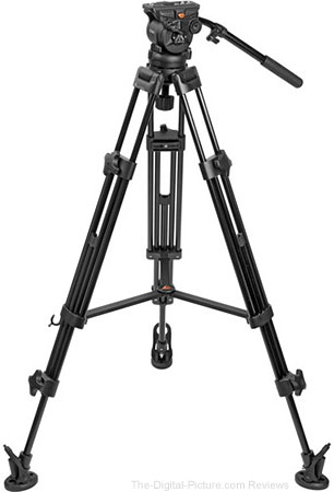 E-Image EK60AAM Fluid Drag Video Head and Tripod - $159.95 Shipped (Reg. $299.95)