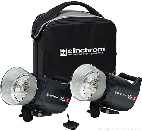 Elinchrom ELC Pro HD 500/500 To Go 2 Light Kit - $1,494.99 Shipped (Reg. $2,199.99)