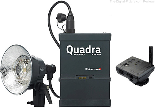 Elinchrom Quadra Living Light Kit with Lead Battery, S Head and Transmitter - $749.00 Shipped (Reg. $999.00)