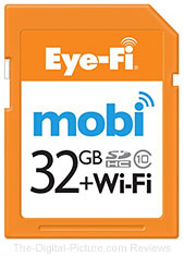 Eye-Fi 32GB Mobi Wireless Memory Card