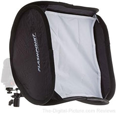 "Flashpoint 16"" Collapsible Softbox for Shoe-Mount Flash - $34.95 Shipped (Reg. $49.95)"