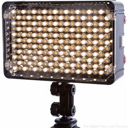 Flashpoint 198 LED Bi-Color on Camera Light - $50.00 Shipped (Reg. $100.00)
