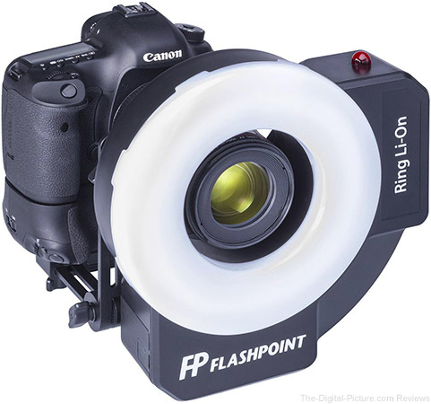 Flashpoint RF-400 Ring Li-On 400ws Ringflash with Battery Pack - $349.95 Shipped (Reg. $499.95)