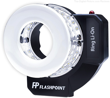 Flashpoint Announces Battery-Powered Ring Li-on Ring Flash