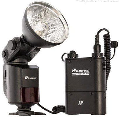 Flashpoint StreakLight 360 Ws Flash with Blast Power Pack - $399.95 Shipped (Reg. $519.95)