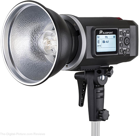 Flashpoint XPLOR 600 HSS TTL Battery-Powered Monolight with Built-in Radio Remote System - $599.95 Shipped (Reg. $749.00)