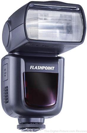 Flashpoint Zoom Li-on R2 TTL On-Camera Flash Speedlight For Canon (V860CII) - $129.00 Shipped (Reg. $199.00)
