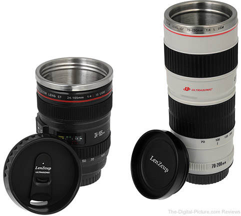 Select Fotodiox Lens Thermo Coffee Cups on Sale at B&H