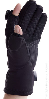 Freehands Men's Softshell Photo Gloves