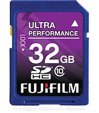 Fujifilm 32GB SDHC Class 10 Memory Card