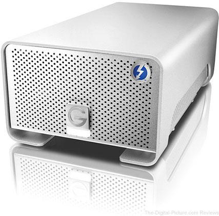 G-Technology 8TB G-RAID External Hard Drive Array with Thunderbolt - $399.00 Shipped (Reg. $499.00)