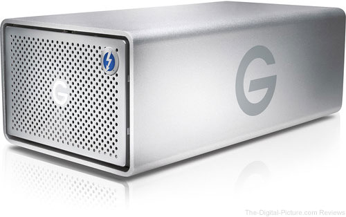 G-Technology G-RAID 10TB 2-Bay Thunderbolt 2 RAID Array - $569.00 Shipped (Reg. $699.00)