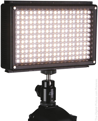 Genaray LED-6500T 209 LED Variable-Color On-Camera Light - $89.95 Shipped (Reg. $169.95)
