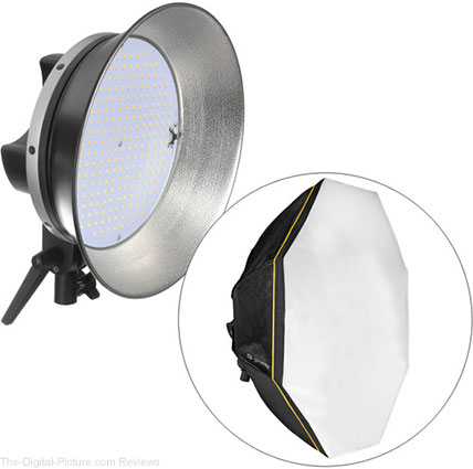 Genaray OctaLux LED Light - $149.95 Shipped (Reg. $324.95)