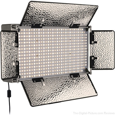 Genaray SpectroLED Studio 500 Bi-Color LED Light - $279.95 Shipped (Compare at $488.95)