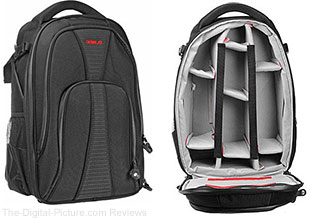 Genus Shooter Camera Backpack with Laptop Compartment
