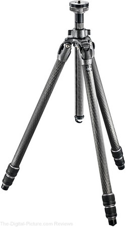 Gitzo Offers Mail-In Rebates on Popular Mountaineer Tripods